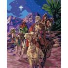 Путешествие волхвов Раскраска картина по номерам акриловыми красками Plaid