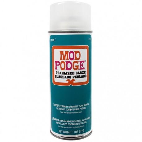 Глянцевый перламутр Лак акриловый аэрозольный ( спрей ) Mod Podge Plaid