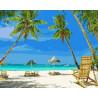Пляж Раскраска картина по номерам на холсте ZX 22289