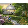 Мой дом Раскраска картина по номерам на холсте ZX 22263
