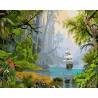 Тропический остров Раскраска картина по номерам на холсте ZX 22257