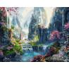 Райское место Раскраска картина по номерам на холсте ZX 22240