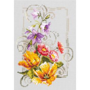 Счастливого июня Набор для вышивания Чудесная игла 100-162