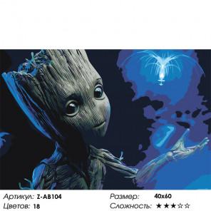 На другой планете Раскраска картина по номерам на холсте Z-AB104