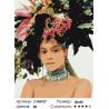 Количество цветов и сложность Модная прическа Раскраска картина по номерам на холсте Z-AB107