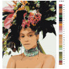 Раскладка Модная прическа Раскраска картина по номерам на холсте Z-AB107