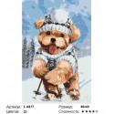 Количество цветов и сложность На лыжах Раскраска картина по номерам на холсте Z-AB77