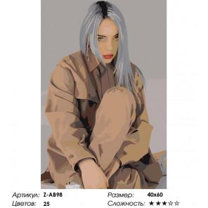 Её жизнь Раскраска картина по номерам на холсте Z-AB98