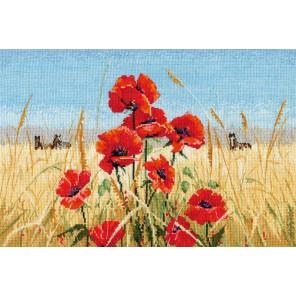 Лето,поле,маки(по мотивам С.Кольба) Набор для вышивания Овен 1010