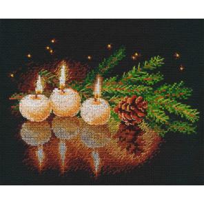 Свеча горела Набор для вышивания Овен 1013
