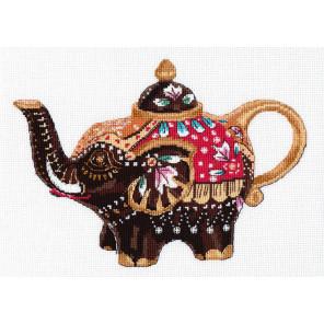 Чайный слоник Набор для вышивания Овен 1037