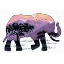 В мире животных. Слон Набор для вышивания Овен 1049