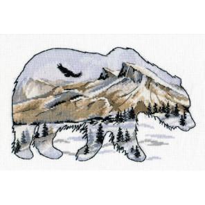 В мире животных. Медведь Набор для вышивания Овен 1052