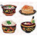Русская кухня Набор для вышивания Овен 1081