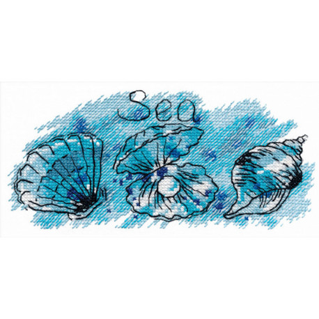 Жемчужина моря Набор для вышивания Овен 1070