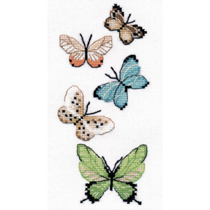 Бабочки Набор для вышивания Овен 1076