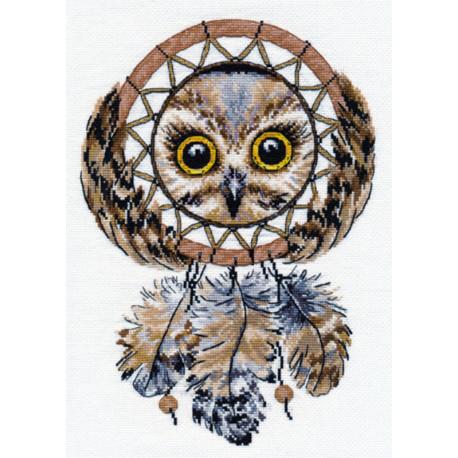 Ловец снов Набор для вышивания Овен 1078