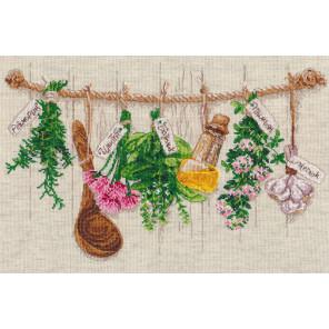 Душистые травы Набор для вышивания Овен 1079