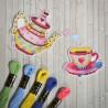 Приятного чаепития Набор для вышивания Овен 1080