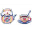 Приятного чаепития-2 Набор для вышивания Овен