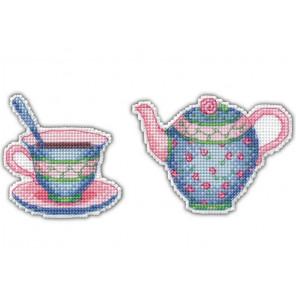 Приятного чаепития-3 Набор для вышивания Овен 1088