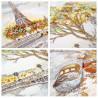 Осень в Париже Набор для вышивания Овен 1044