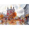 Храм Святого Климента. Москва Набор для вышивания Овен 1050