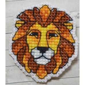 Лев значок Набор для вышивания Овен 1170