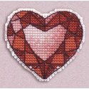 Сердце значок Набор для вышивания Овен