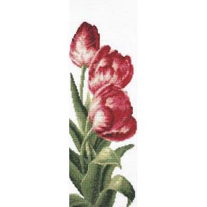 Тюльпаны Набор для вышивания Палитра