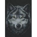 Взгляд волка Набор для вышивания Палитра