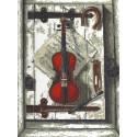 Натюрморт со скрипкой Набор для вышивания Палитра