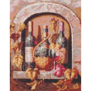 Натюрморт с вином Набор для вышивания Палитра