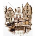 Старый Амстердам Набор для вышивания Палитра