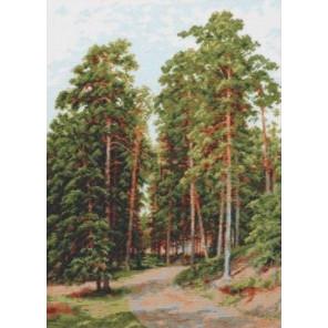 Солнце в лесу Набор для вышивания Палитра