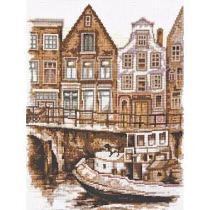 Набережная Амстердама Набор для вышивания Палитра