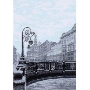 Итальянский мост. Санкт-Петербург Набор для вышивания Палитра