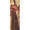 Девушка с кувшином Набор для вышивания Палитра