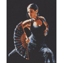Фламенко Набор для вышивания Палитра