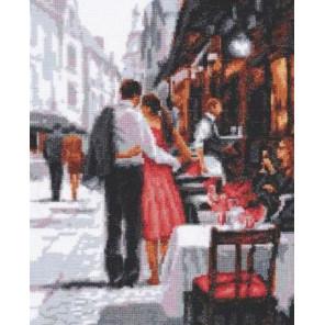 Романтическое настроение Набор для вышивания Палитра