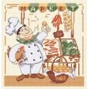 Веселый повар-2 Набор для вышивания Овен 590