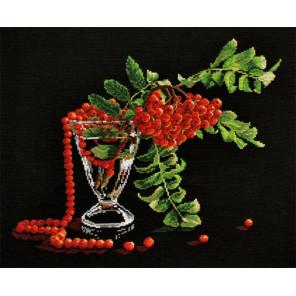 Рубиновые бусы Набор для вышивания Овен 753