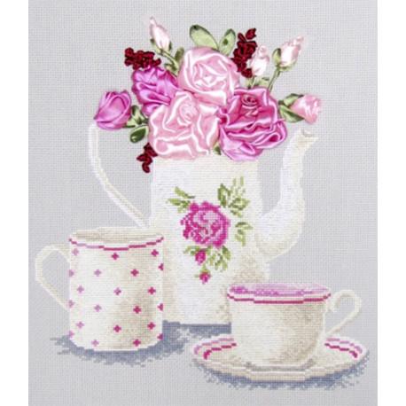 Чайная фантазия Набор для вышивания Овен 468