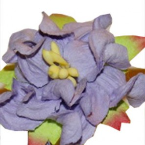 1шт Сиреневый Цветок гардении 3,5см Цветы бумажные Украшение для скрапбукинга, кардмейкинга