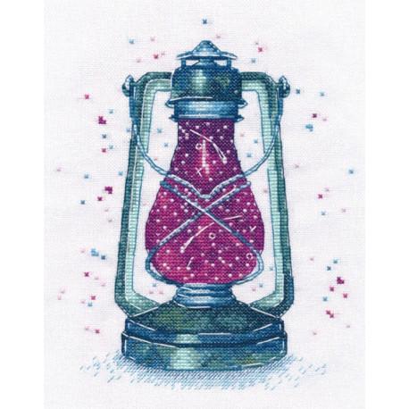 Загадочный свет-1 Набор для вышивания Овен 1164