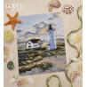 Береговой маяк Набор для вышивания Овен 1174