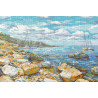 Крымский берег Набор для вышивания Овен 1177
