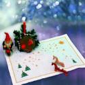 Загадай желание Набор для вышивания салфетки Овен