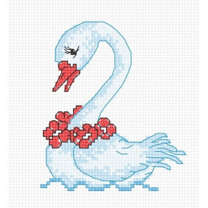 Лебедь Набор для вышивания Овен 579