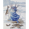 Азартный рыбак по рисунку И. Зенюк Набор для вышивания Марья Искусница